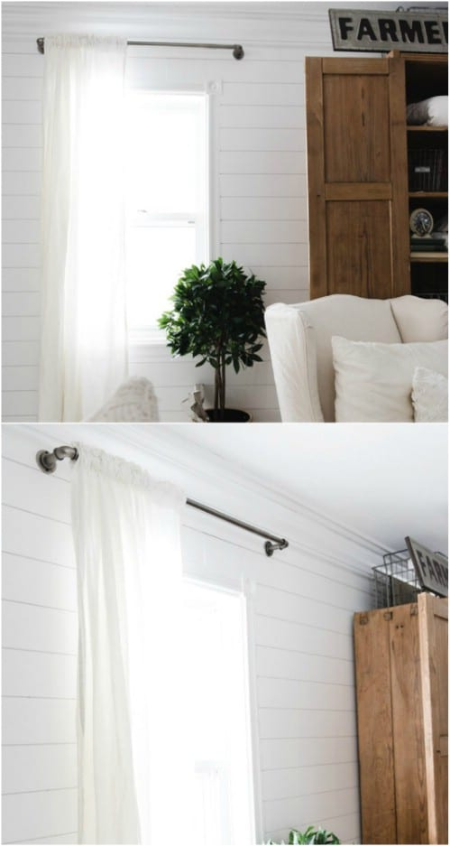 Industrial Farmhouse Pipe Curtain Rods