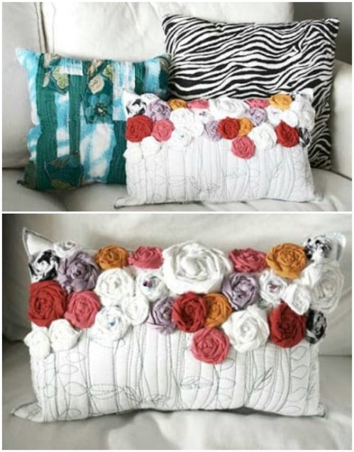 Home Decor: 16 Easy and Creative DIY Pillow Projects