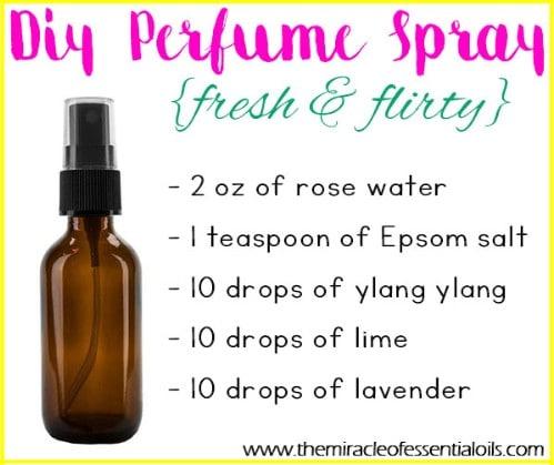 Essential Oil Perfume Spray