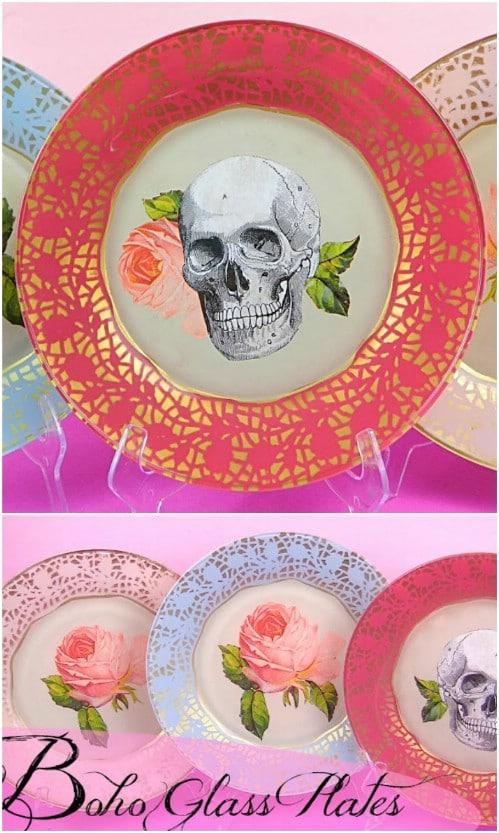 DIY Boho Plates
