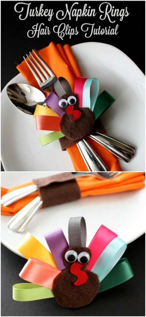 Thanksgiving Dinner Table Decor: 16 DIY Napkin Ring Ideas