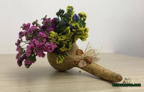 Gourd Flower Display - Tutorial