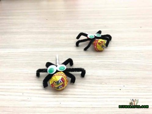 Lollipop Spiders Tutorial