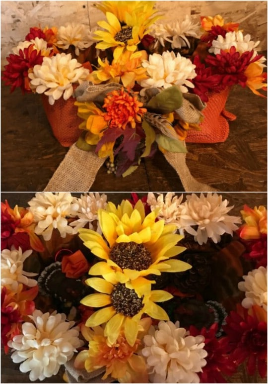 Gorgeous DIY Fall Harvest Basket