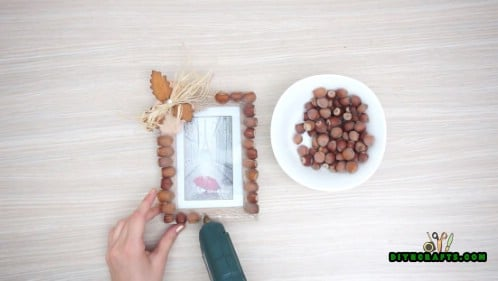 Fall Picture Frame - Tutorial