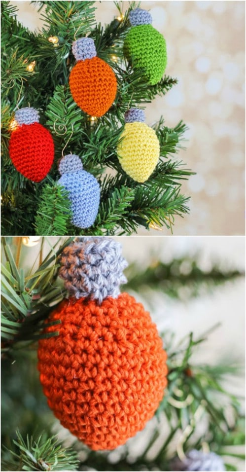 16 Creative DIY Crochet Christmas Ornaments