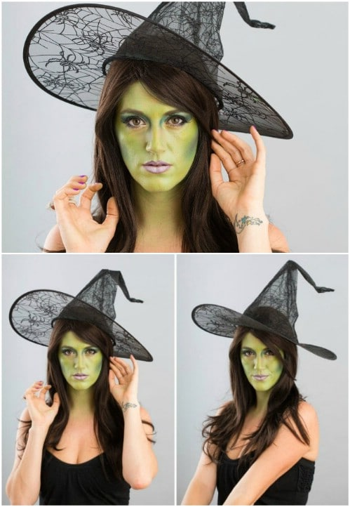 Scary Witch Makeup