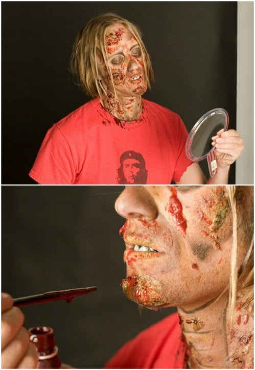 Gory Ghoul Makeup Tutorial