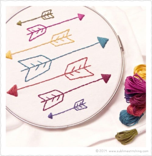 Best Projects for Embroidery Beginners (Part 2)