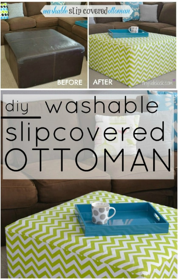 Easy And Cheap DIY Slipcover