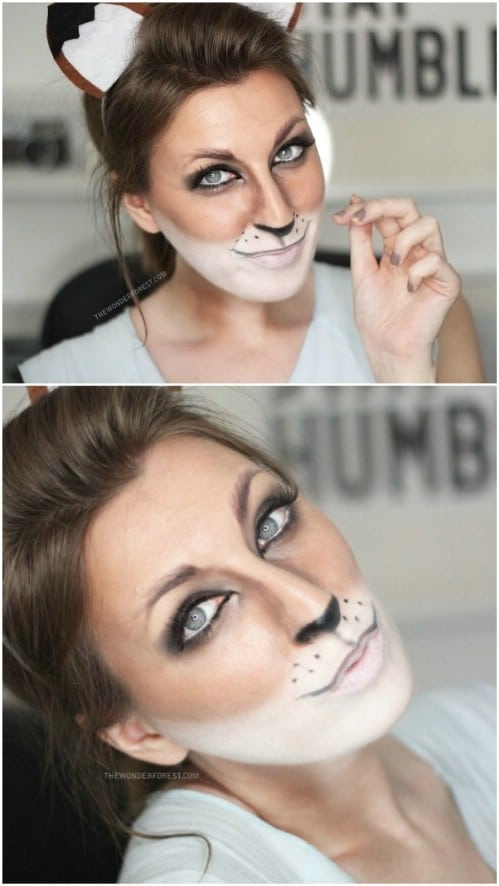 Woodland Creatures Makeup