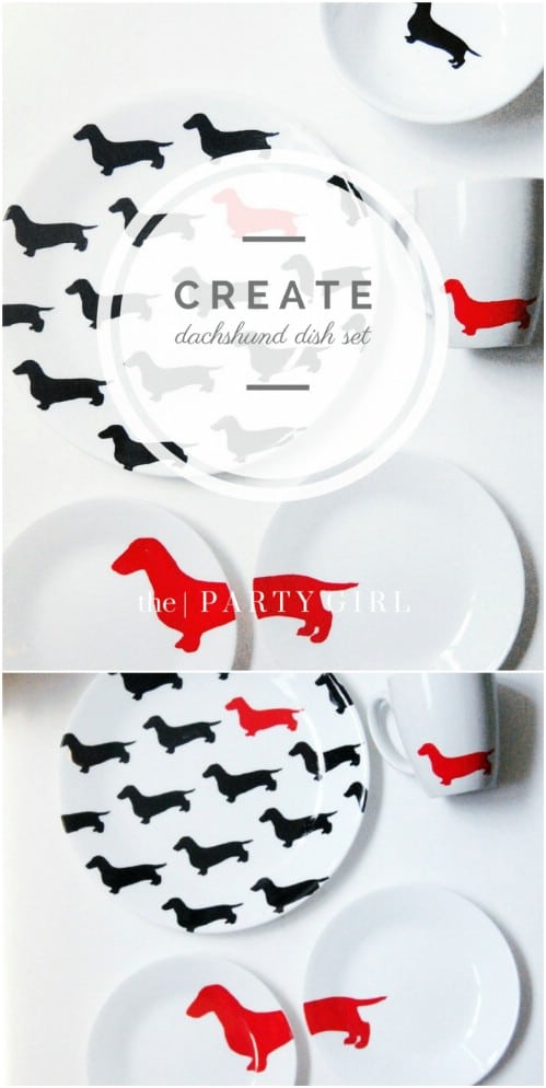 Kate Spade Inspired Plates