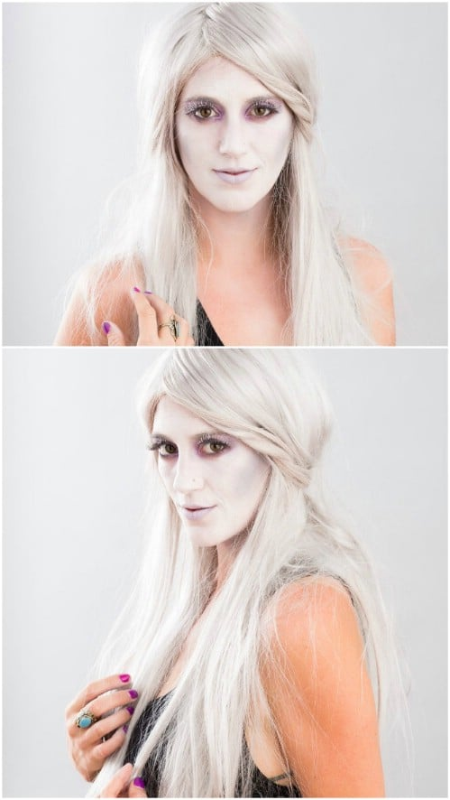 Classic Ghost Makeup Tutorial