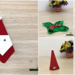 5 Festive DIY Christmas Napkin Designs With Simple Video Instructions