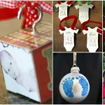 10 Memorable DIY Baby's First Christmas Ornaments