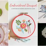 25 Easy Embroidery Projects For Beginners With Free Patterns