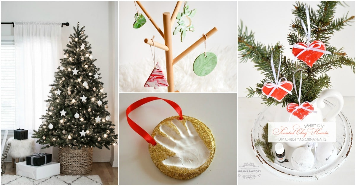 13 DIY Clay Christmas Ornaments That Add Homemade Style To