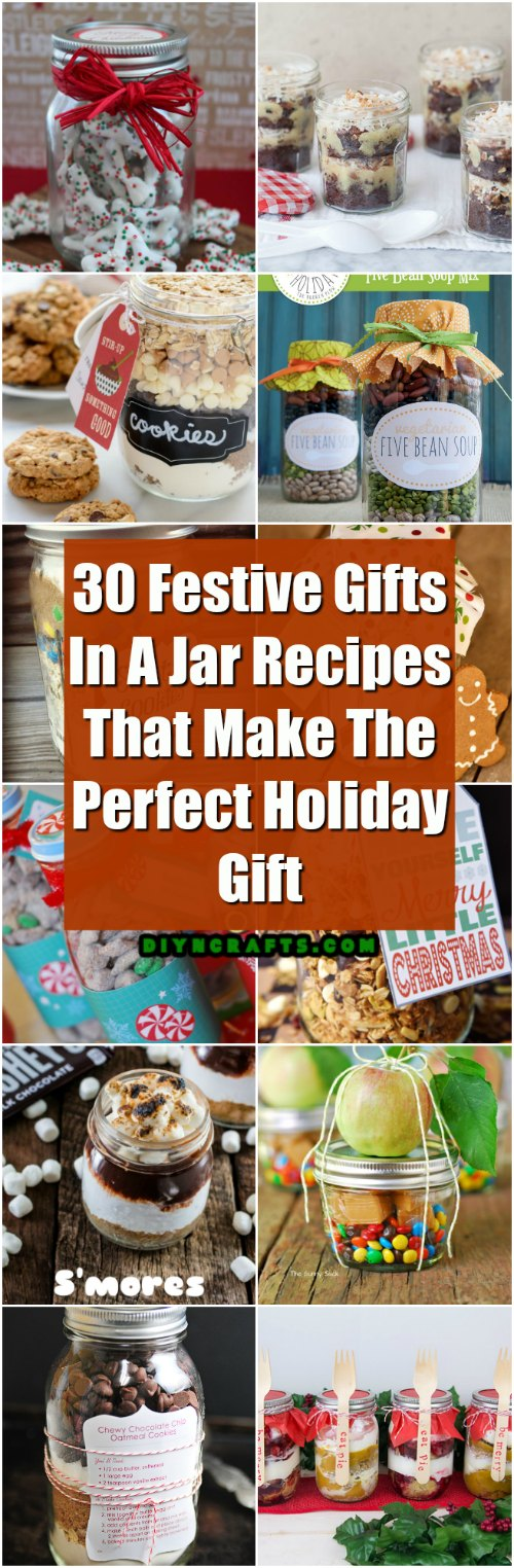 30 Festive Gifts In A Jar Recipes That Make The Perfect Holiday Gift