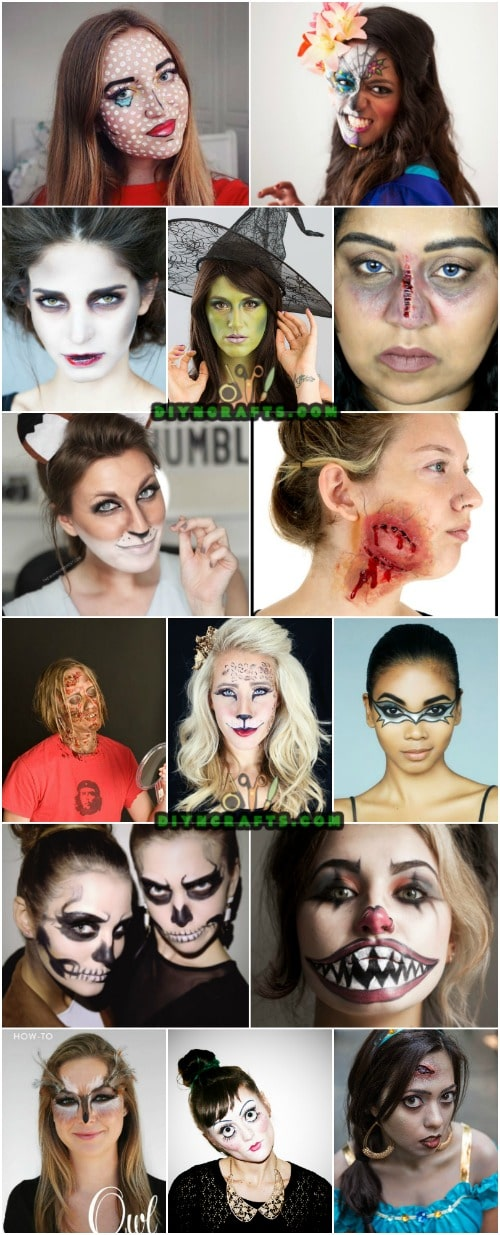 30 Amazing Diy Halloween Makeup Tutorials That Will Make
