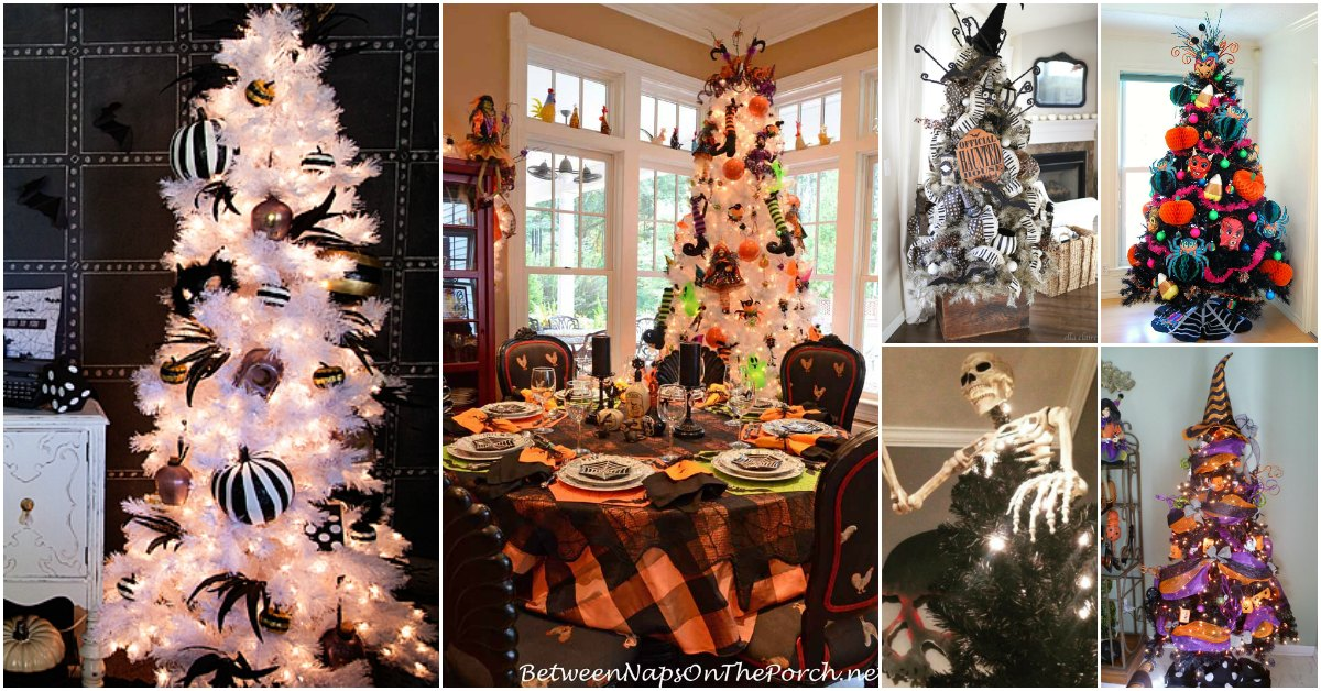 Halloween Trees – 15 Fun And Creative Ways To Prepare and Decorate