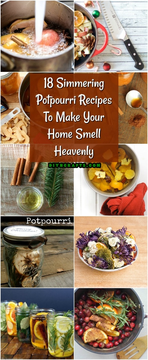 18 Simmering Potpourri Recipes To Make Your Home Smell Heavenly