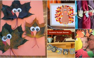 25 Fun And Creative Thanksgiving Crafts For Kids