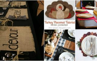 15 Quick And Easy DIY Placements That Add Style To Your Thanksgiving Table