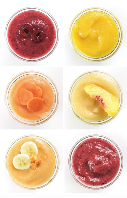 First Foods: 15 Homemade Baby Food Recipes