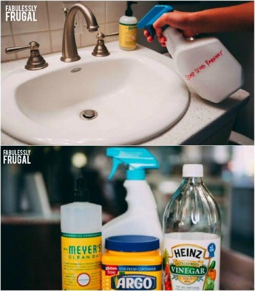 DIY Soap Scum Remover