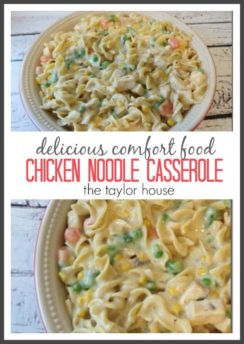 Wholesome Chicken Noodle Casserole
