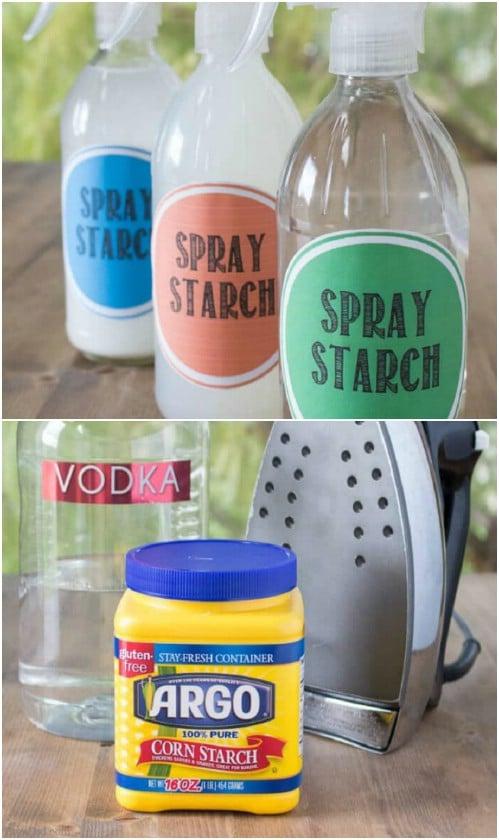 DIY Liquid Spray Starch