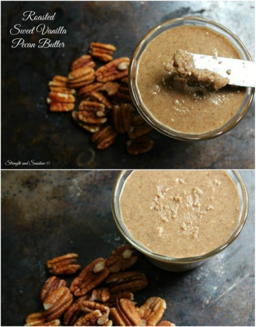 Homemade Roasted Pecan Vanilla Butter