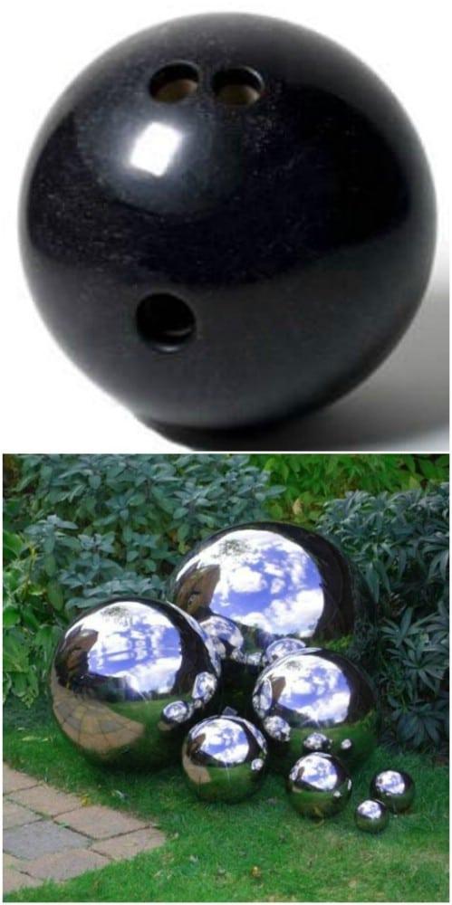 DIY Garden Gazing Ball