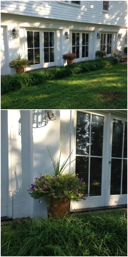 DIY Outdoor Planters