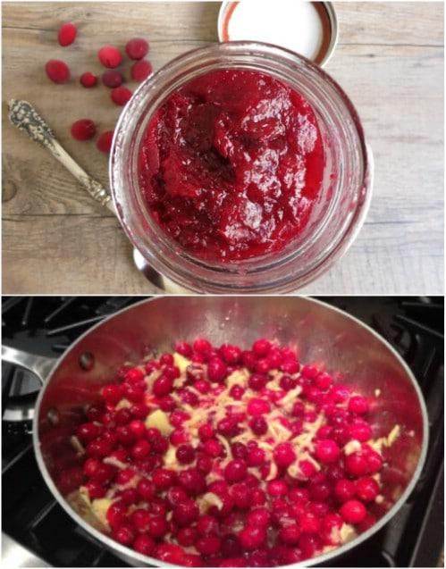 Homemade Holiday Cranberry Orange Jam
