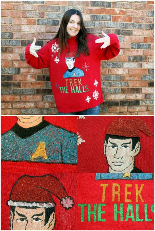 Star Trek Christmas Sweater