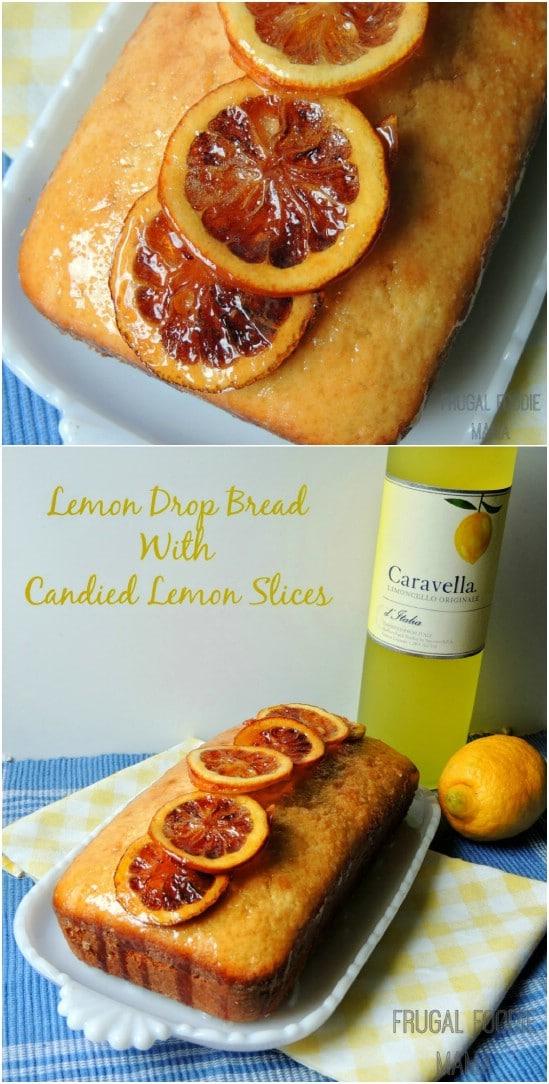 Yummy Lemon Drop Bread