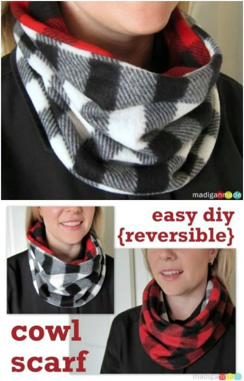 14 Creative and Easy DIY Scarfs to Keep You Warm and Stylish