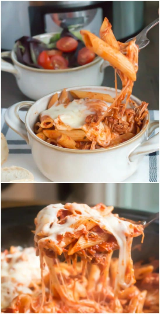 Crock Pot Chicken Parmesan With Pasta
