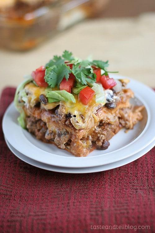 Homemade Enchilada Casserole