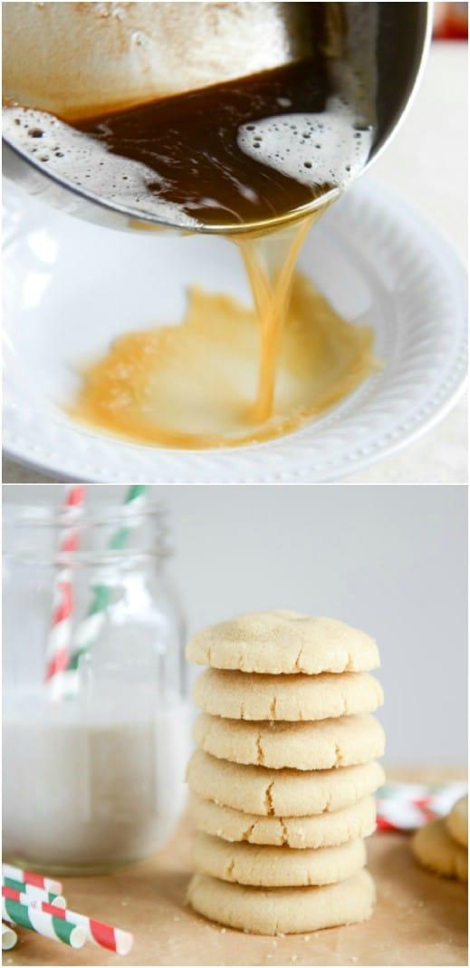 Easy Brown Butter Sugar Cookies
