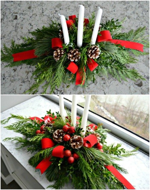 59 Incredibly Simple Rustic Décor Ideas That Can Make Your: 20 Creative Ways To Use Fresh Evergreen In Your Christmas