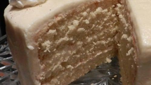 Traditional Deep South Eggnog Cake
