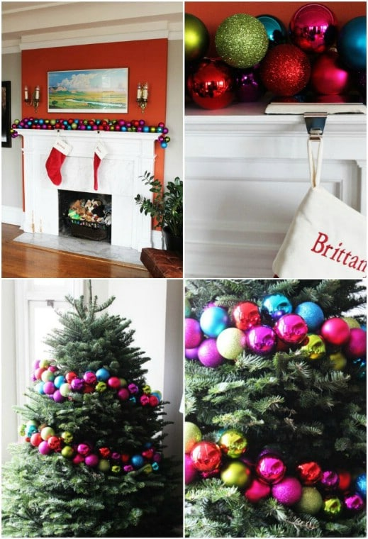 25 diy garland ideas to dress up your home this holiday season diy diy ornament garland solutioingenieria Gallery