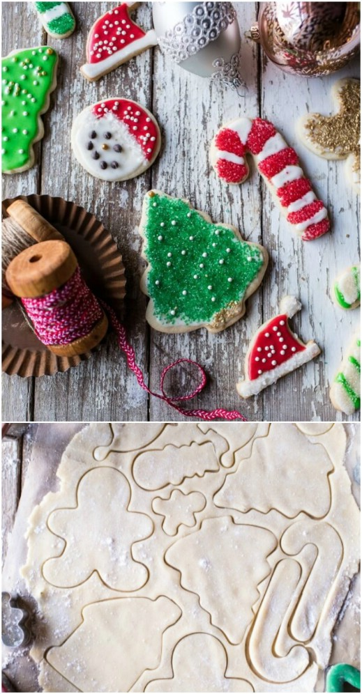 Eggnog Sugar Cookies With Vanilla Frosting