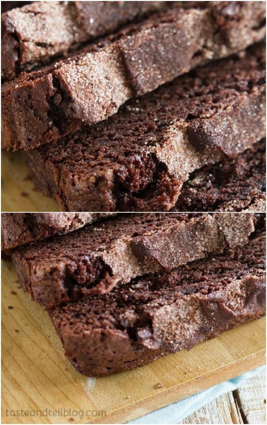 Homemade Chocolate Cinnamon Bread