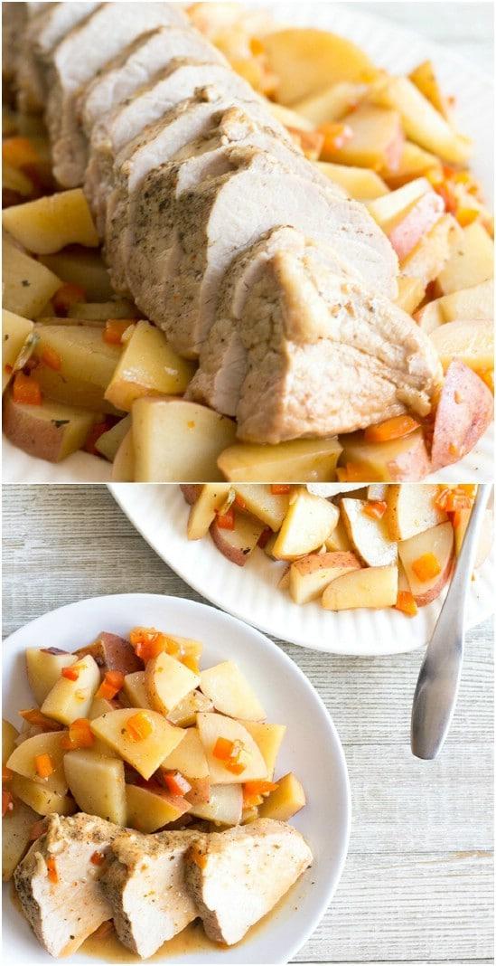 Slow Cooker Pork Tenderloin And Potatoes