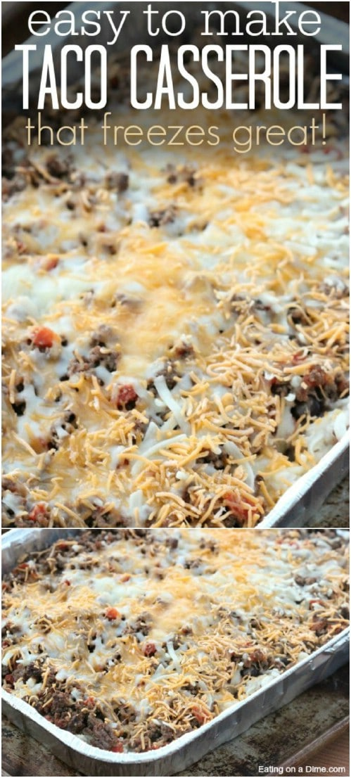 Family Favorite Taco Rice Casserole