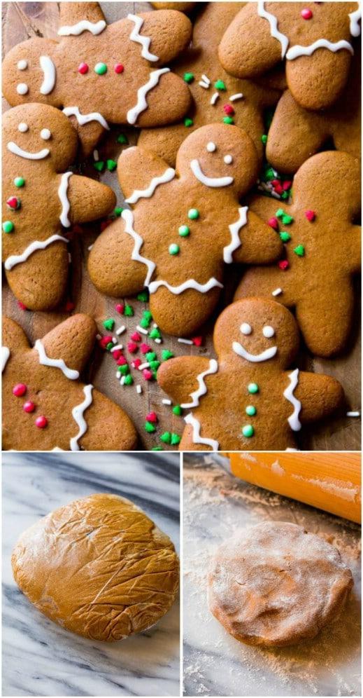 Traditional Gingerbread Men Cookies