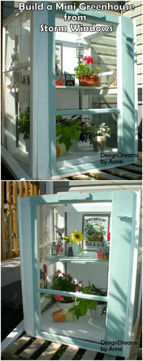 Easy DIY Baby Greenhouse